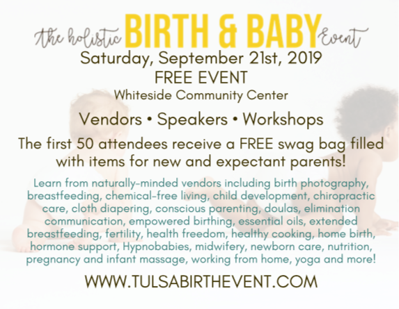 the holistic birth and baby event tulsa
